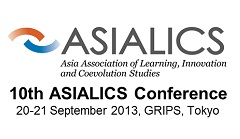 10th ASIALICS Conference: The Roles of Public Research Institutes and Universities in Asia's Innovation Systems